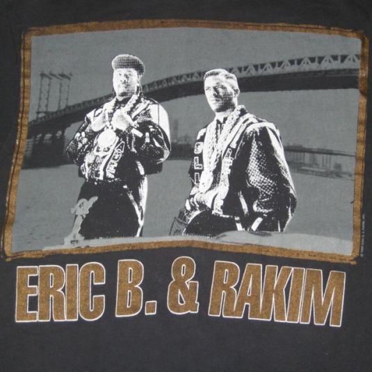 vintage EIC B. & RAKIM PAID IN FULL T-Shirt 1988 Tour OG