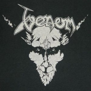 Vintage VENOM 1980s ORIGINAL T-Shirt