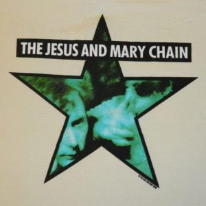 Vintage THE JESUS AND MARY CHAIN AUTOMATIC '90 Promo T-Shirt