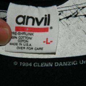 Vintage DANZIG 4 L/S T-SHIRT 1995 90S GLENN
