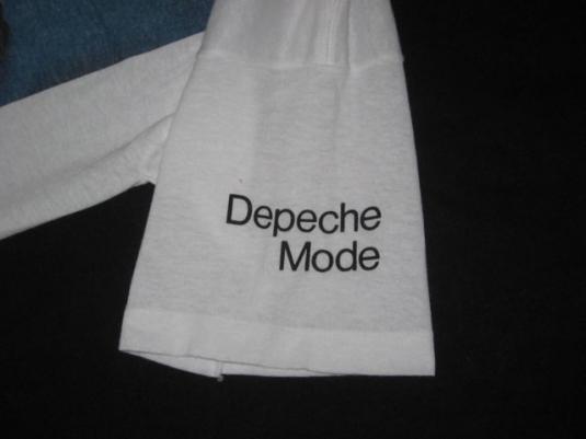 vintage DEPECHE MODE 80S T-Shirt