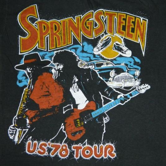 Vintage BRUCE SPRINGSTEEN 1978 Tour T-Shirt 70s