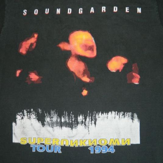 Vintage Soundgarden 1994 Tour T-shirt