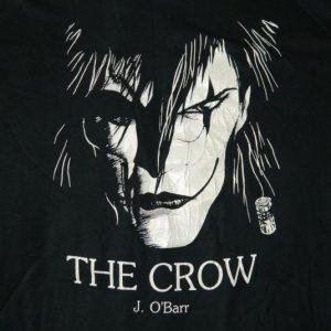 Vintage THE CROW J. O'BARR T-SHIRT 80S COMIC BOOK SERIES TEE