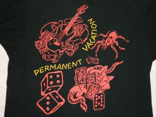 Vintage Aerosmith 1988 Permanent Vacation Tour T-shirt