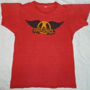 Vintage 70S AEROSMITH T-SHIRT promo concert tour