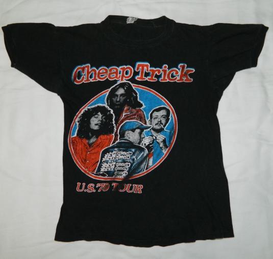 Vintage CHEAP TRICK 1979 TOUR T-Shirt '79 concert 70s