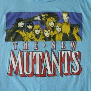 Vintage THE NEW MUTANTS 80S T-SHIRT MARVEL COMICS