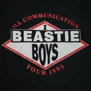 Vintage RARE BEASTIE BOYS ILL COMMUNICATION TOUR T-Shirt 90s