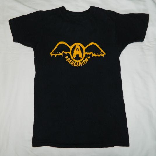 Vintage 1974 AEROSMITH GET YOUR WINGS T-Shirt 70s original
