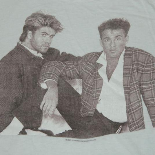 Vintage WHAM! 1985 Tour T-Shirt 80s Concert