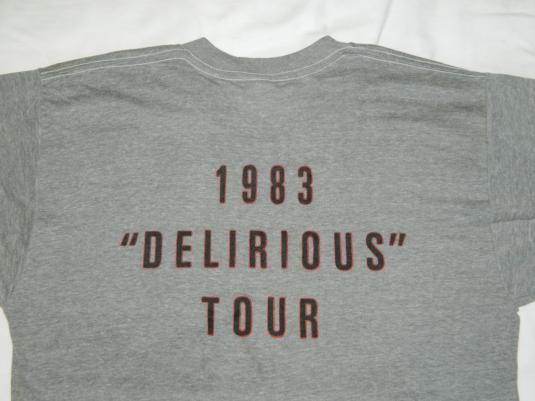 Vintage EDDIE MURPHY 1983 DELIRIOUS TOUR T-Shirt