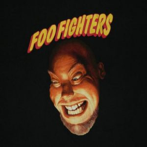 Vintage FOO FIGHTERS 1995 TOUR T-Shirt 90S DAVE GROHL