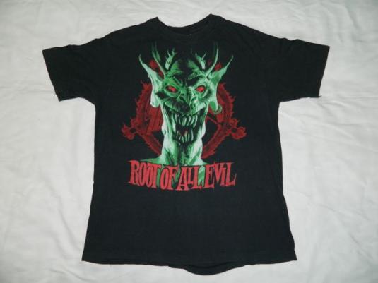 Vintage SLAYER 1988 World Sacrifice Tour T-Shirt XL original