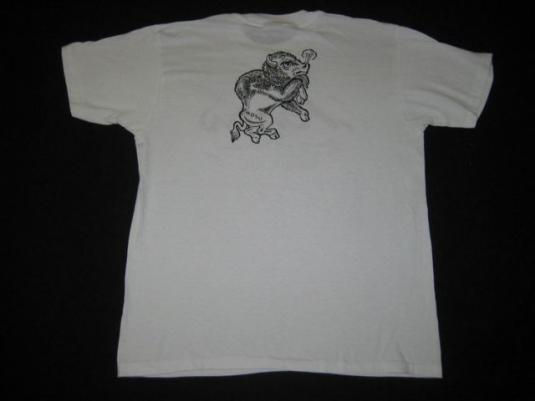 vintage POISON BRITNY FOX 1988 NDSU CONCERT T-Shirt tour 80s
