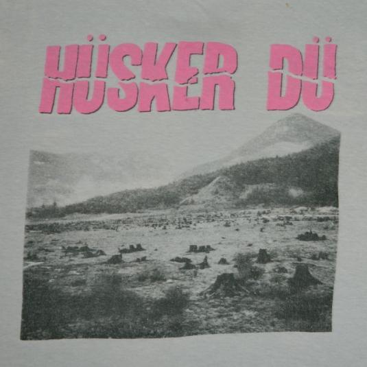 Vintage Husker Du 80s T-Shirt M/S