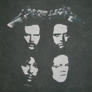 Vintage METALLICA 1991 TOUR T-Shirt L Original concert 90s