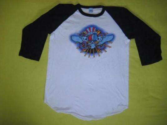 vintage GRATEFUL DEAD 1982 SUMMER TOUR JERSEY t-shirt 80s