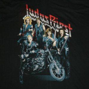 Vintage DEAD STOCK XL JUDAS PRIEST 1988 TOUR T-Shirt nos