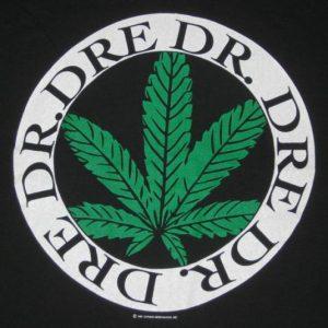 vintage DR DRE 1993 THE CHRONIC TOUR T-Shirt rap nwa 90s