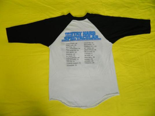 Vintage RAVEN 1985 STAY HARD TOUR JERSEY T-Shirt 80s