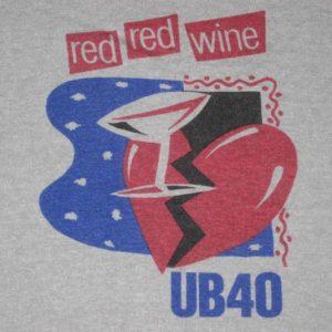 vintage UB40 LABOUR OF LOVE 1984 TOUR T-Shirt 80s reggae