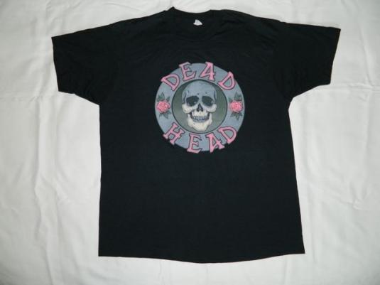 vintage DEAD HEAD 80S T-Shirt Grateful nos