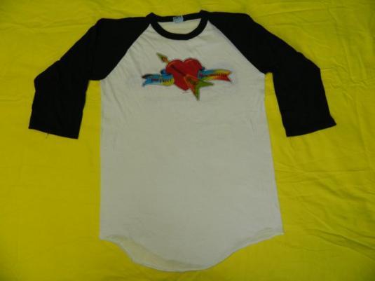 Vintage TOM PETTY 1983 AMERICAN TOUR JERSEY T-Shirt 80s