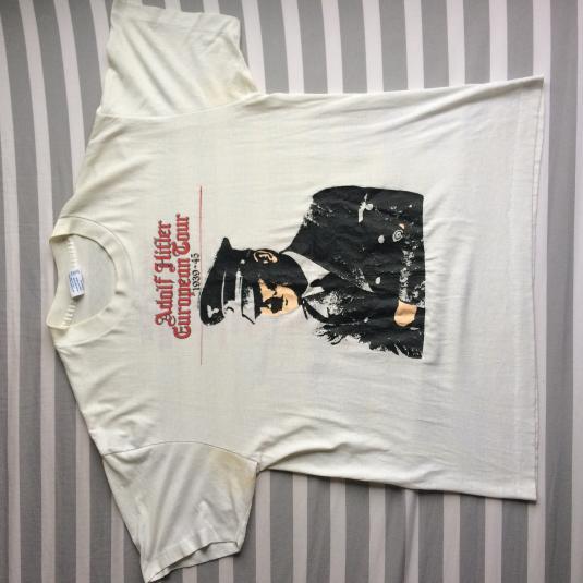 Vintage 80s Adolf Hitler European Tour shirt