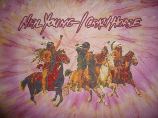 Vintage 1996-1997 Neil Young & Crazy Horse Tour T-Shirt