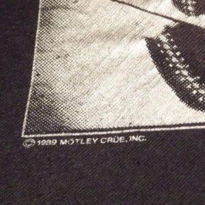 1989 MOTLEY CRUE KICK START MY HEART MENS T SHIRT PAPER THIN