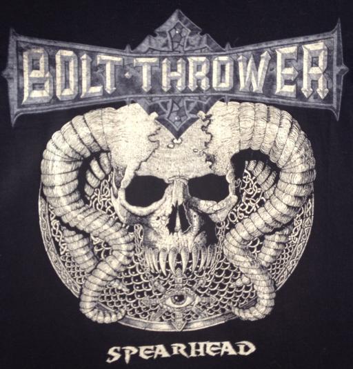 BOLT THROWER SPEARHEAD T SHIRT