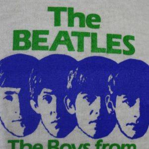 Vintage 80s The Beatles DEADSTOCK Screen Stars Promo T Shirt