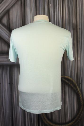 Vintage 80s Surf Paradise Island Burnout T Shirt