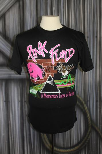 Vintage Pink Floyd A Momentary Lapse of Reason Tour T Shirt