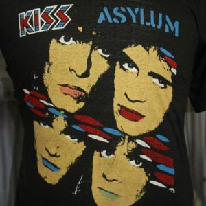 Vintage 80s Kiss Tears Are Falling World Tour T Shirt