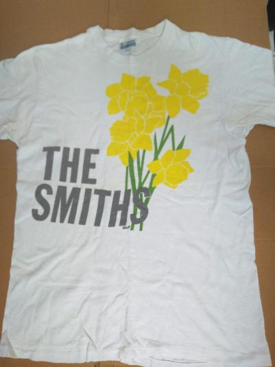 """The Smiths """"Daffoldils"""" first tour 1983"""