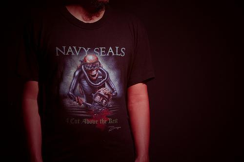vintage 1988 Navy Seal t-shirt
