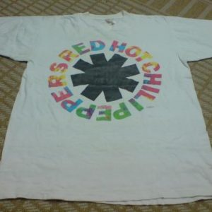 Rare vintage 1989 Red Hot Chili Peppers promo tee