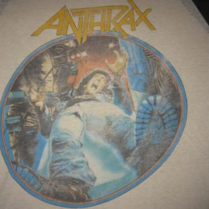 1986 ANTHRAX SPREADING THE DISEASE VINTAGE T-SHIRT