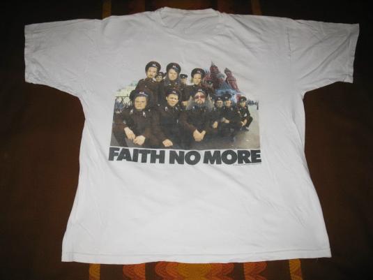1992 FAITH NO MORE MIDLIFE CRISIS VINTAGE T-SHIRT