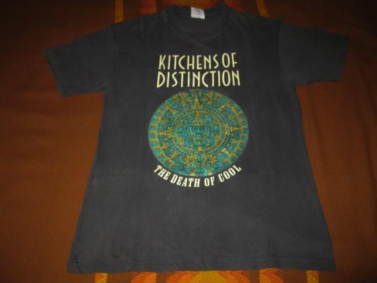 1992 KITCHENS OF DISTINCTION DEATH OF COOL VTG TEE SHOEGAZE