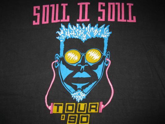 1990 SOUL II SOUL VOL.II NEW DECADE TOUR VINTAGE T-SHIRT