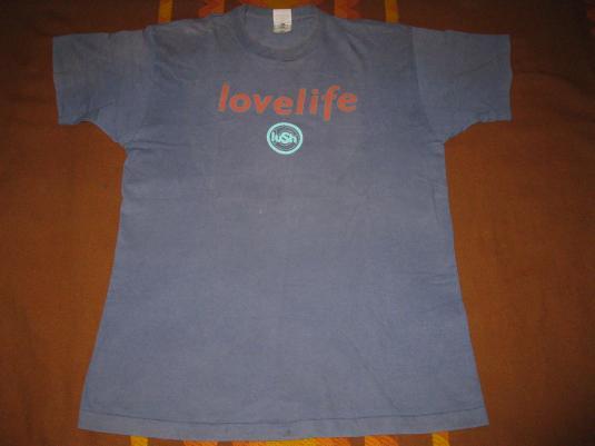 1996 LUSH LOVELIFE VINTAGE T-SHIRT SHOEGAZE 4AD