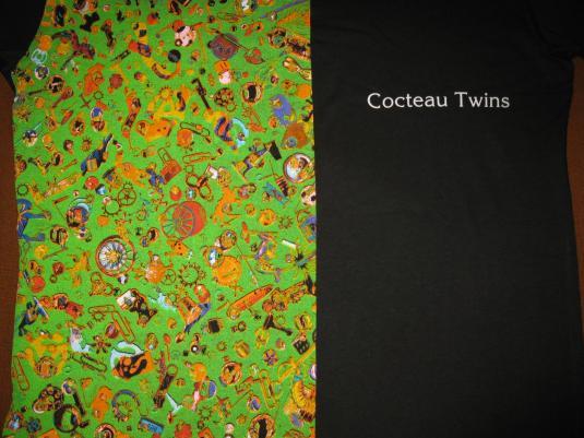1994 COCTEAU TWINS BLUEBEARD VINTAGE T-SHIRT SHOEGAZE 4AD