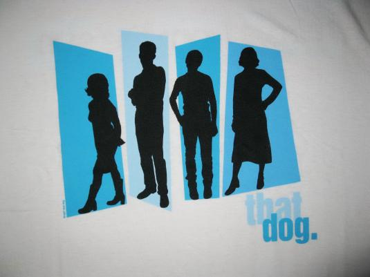 1997 THAT DOG RETREAT FROM THE SUN VINTAGE T-SHIRT