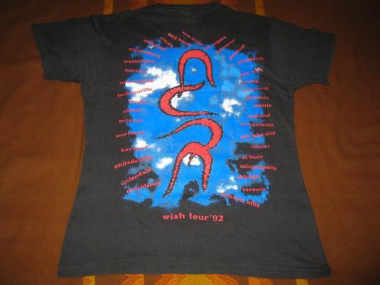 1992 THE CURE WISH TOUR VINTAGE T-SHIRT