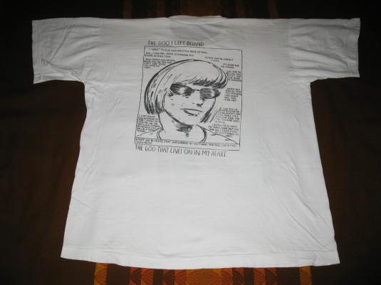 1990 SONIC YOUTH GOO VINTAGE T-SHIRT RAYMOND PETTIBON