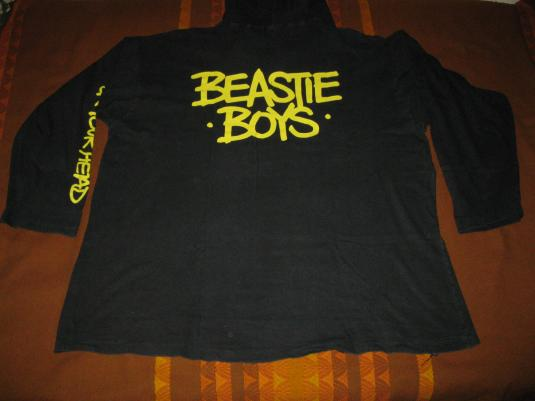 1992 BEASTIE BOYS – CHECK YOUR HEAD – VINTAGE HOODED T-SHIRT