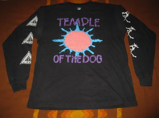1991 TEMPLE OF THE DOG HUNGER STRIKE VINTAGE T-SHIRT SEATTLE